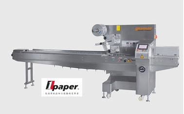 China Machinery Hardware Cookie Automatic Bagging Machines PET / AL / PE Laminating Film supplier