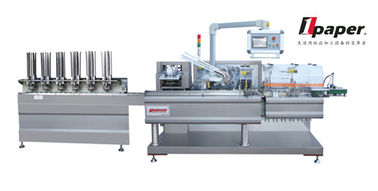 China Paste Automatic Cartoning Machine  For Pharmacticals For Entertainment supplier
