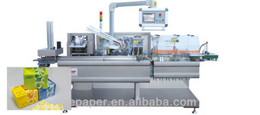 China Cotton Pads Tissue Paper Packing Machine Touch Screen 380V 50Hz 5.1KW supplier