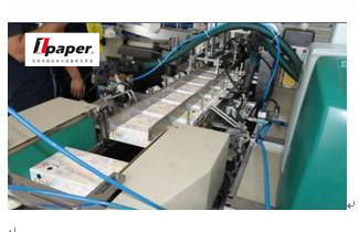 China Full Automatic Tampons Cartoning Tissue Paper Packing Machine With Servo Motor supplier