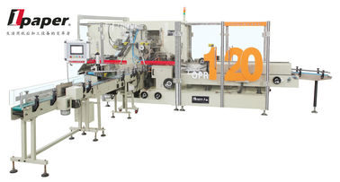 China High Speed Tissue Paper Packing Machine , For Soft Drawn Tissue Paper Packing , With Servo Motor supplier