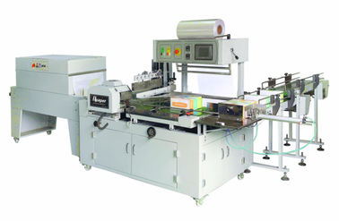 China 3phase Tissue Paper Packing Machine Welting Fully - Closed Type 530mm Film Width supplier