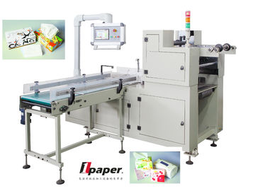 China High Output  Automatic Handle Fixing Machine , For Box Tissue And Roll Paper supplier