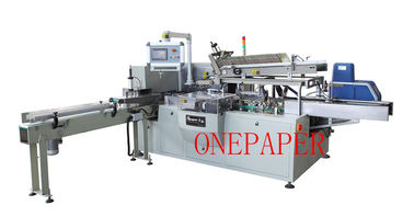 China 25mm Box Height Box Tissue Paper Packing Machine OPH-100B CE supplier