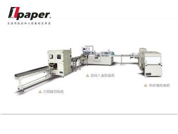 China 11.5KW  Toilet Paper Packing Machine Shrink Wrapping Machinery distributor