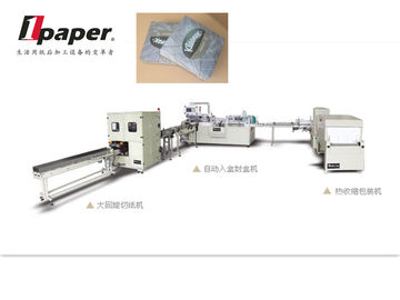 China Napkins Small Toilet Paper Packing Machines Strip Packing Machine  PLC Control distributor