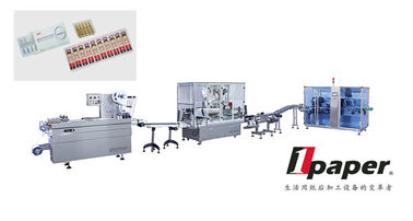China Automatic Oral Liquids Packaging Production Line With Servo Motor distributor