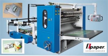 China Automatic Drawn Facial Tissue Folding Machine  For V Type Folding distributor