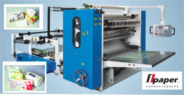 China Leaflet  Document Automatic Paper Folding Machine  Cutting Available factory