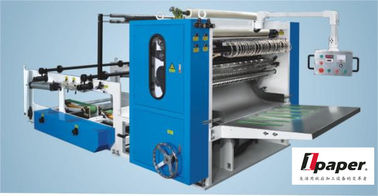 China 5 pcs  Tissue Folding Machine Paper Cutting Machine  1350mm 500 - 1000 Pcs / Min / Row distributor