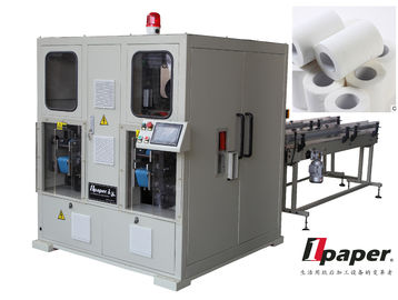 Custom  Log Cutting Saw Electric Log Saw  Facial Tissue PLC  Man - Machine Interface System