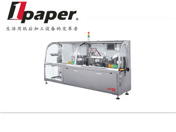 China Fully Automatic Four - Side Sealing Wet Tissue Packing Machine Equipment distributor