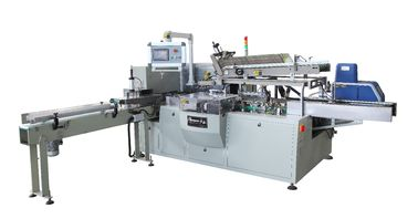 China Box Tissue Packing Machine Tissue Paper Cutting Machine With All Servo Motor distributor